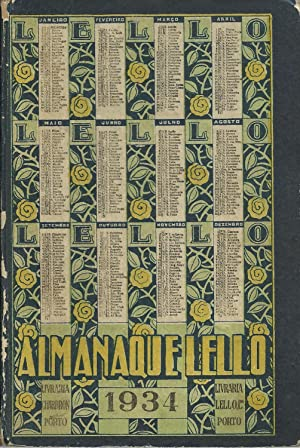 ALMANAQUE LELLO 1934