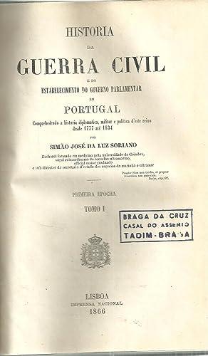 HISTÓRIA DA GUERRA CIVIL E DO ESTABELECIMENTO: SORIANO, Simão José