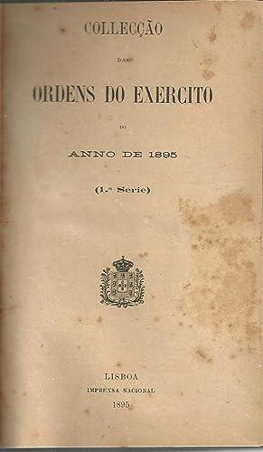 COLLECÇÃO DAS ORDENS DO EXÉRCITO DO ANNO DE 1895