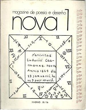 NOVA / MAGAZINE DE POESIA E DESENHO: REVISTA