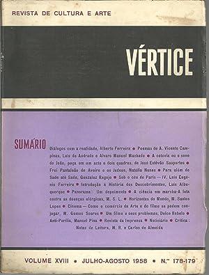 VÉRTICE - Revista de Cultura e Arte.: REVISTA