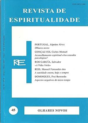 REVISTA DE ESPIRITUALIDADE. Ano XII - Nº