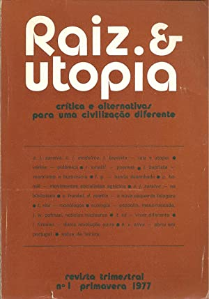 RAIZ & UTOPIA. Crítica e alternativas para: REVISTA