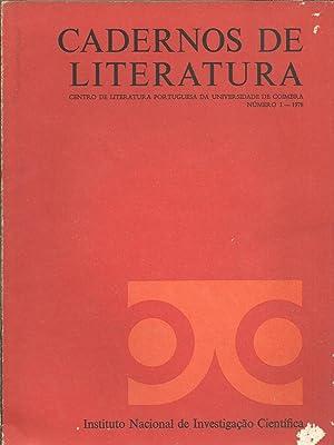 CADERNOS DE LITERATURA: Centro de Literatura Portuguesa