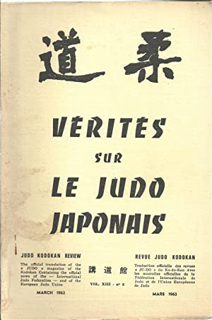 JU-DO. The Official Translation of the Magazine of the KdK. Traduction Officielle des Revues du K...