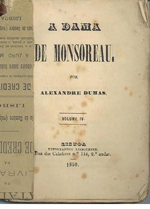 A DAMA DE MONSOREAU. Volume IV: DUMAS, Alexandre (1824-1895)