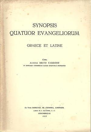SYNOPSIS QUATUOR EVANGELIORUM GRAECE ET LATINE: CARDOSO, Antonio Brito