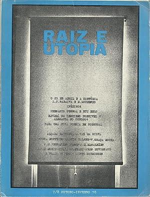 RAIZ E UTOPIA. 7/8. Outono - Inverno: REVISTA