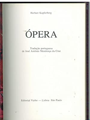 ÓPERA: KUPFERBERG, Herbert