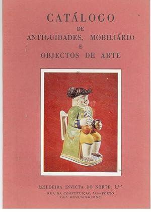 CATÁLOGO DE ANTIGUIDADES E OBJECTOS DE ARTE.