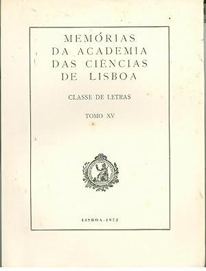 MEMÓRIAS DA ACADEMIA DAS CIÊNCIAS DE LISBOA.