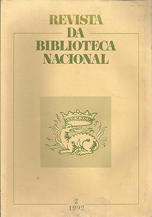 REVISTA DA BIBLIOTECA NACIONAL S. 2 Vol.: REVISTA
