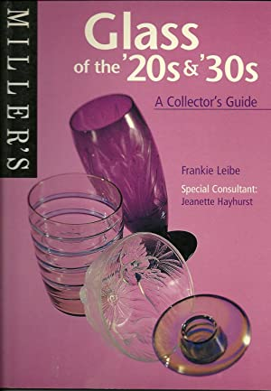 GLASS OF THE 20s & 30s. A Collector's Guide