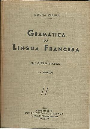 GRAMÁTICA DA LÍNGUA FRANCESA: VIEIRA, Sousa