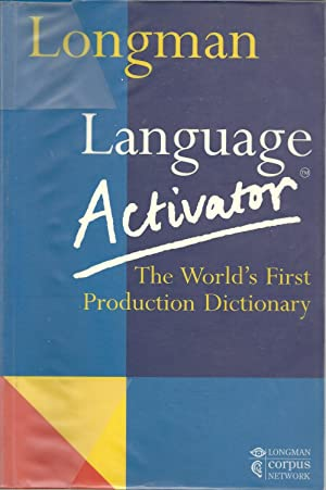 LANGUAGE ACTIVATOR: The World's First Production Dictionary