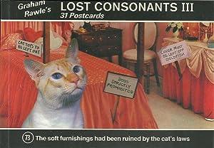 LOST CONSONANTS III: 31 Postcards: RAWLE, Graham