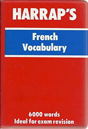 HARRAP'S FRENCH VOCABULARY