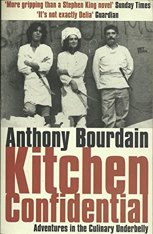 Kitchen confidential by anthony bourdain abebooks for Kitchen confidential