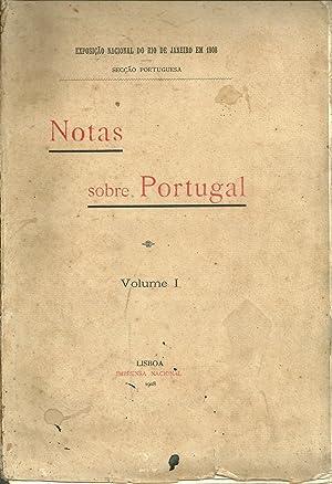 NOTAS SOBRE PORTUGAL. Volume I
