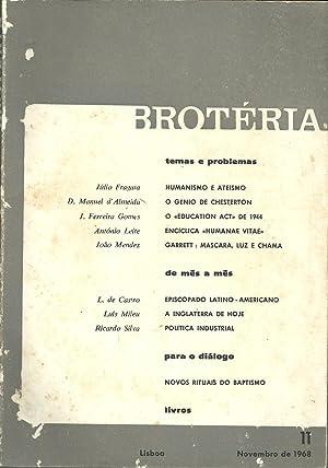 BROTÉRIA. nº 11 - Vol. LXXXVII. Novembro: REVISTA