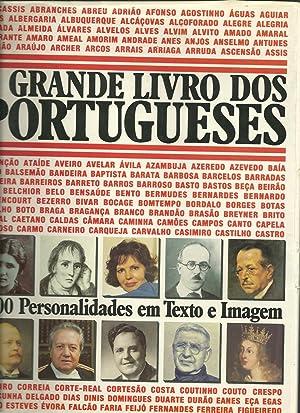 O GRANDE LIVRO DOS PORTUGUESES. 4000 PERSONALIDADES