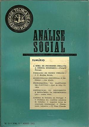 ANÁLISE SOCIAL N 2. Vol. I: REVISTA