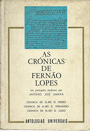 AS CRÓNICAS DE FERNÃO LOPES: SARAIVA, António José