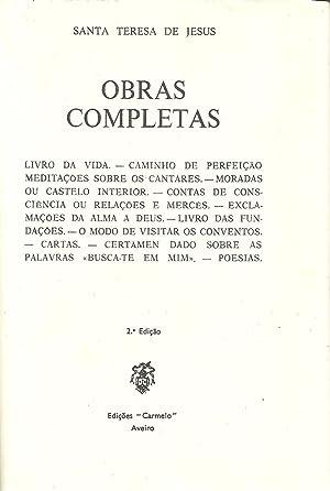 OBRAS COMPLETAS. Livro da Vida - Caminho de Perfeição - Meditações ...