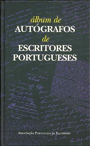 ÁLBUM DE AUTÓGRAFOS DE ESCRITORES PORTUGUESES: DUARTE, Luiz Fagundes (Organização)