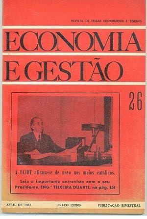 ECONOMIA E GESTÃO n 26: REVISTA