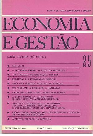 ECONOMIA E GESTÃO. REVISTA DE TEMAS ECONÓMICOS: REVISTA