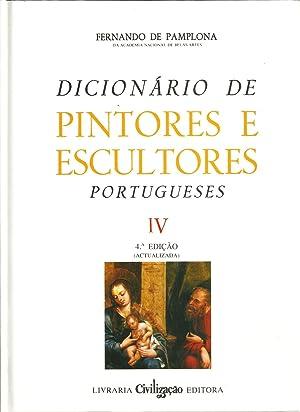 DICIONÁRIO DE PINTORES E ESCULTORES PORTUGUESES OU QUE TRABALHARAM EM PORTUGAL: PAMPLONA, ...