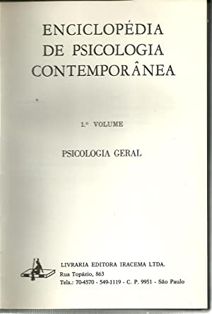 ENCICLOPÉDIA DE PSICOLOGIA CONTEMPORÂNEA. 1º Volume -: DORIN, Lannoy