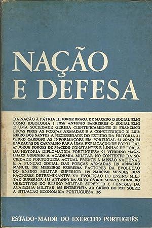 NAÇÃO E DEFESA. Ano I - Nº