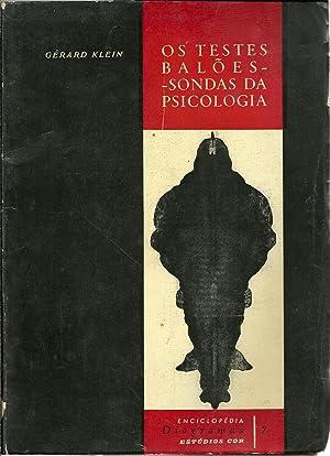 OS TESTES BALÕES-SONDAS DA PSICOLOGIA: KLEIN, Gérard