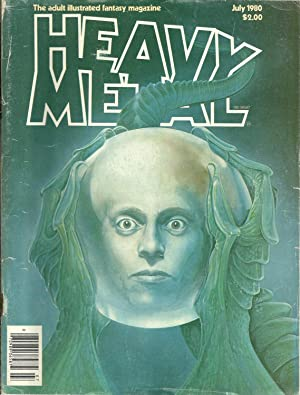 THE ADULT ILLUSTRATED FANTASY MAGAZINE HEAVY METAL.