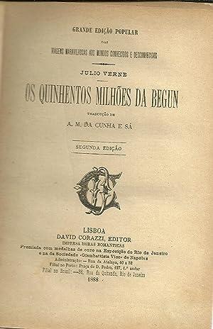 OS QUINHENTOS MILHÕES DA BEGUN: VERNE, Júlio (1828-1905)