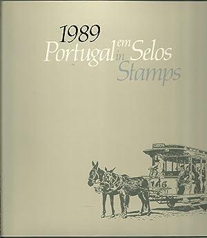 PORTUGAL EM SELOS 1989 Portugal in stamps: GOMES, J. M. Teixeira (Organização)