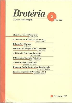 BROTÉRIA - Cultura e Informação. nº 2: REVISTA