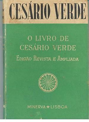 O LIVRO DE CESÁRIO VERDE: VERDE, [José Joaquim]