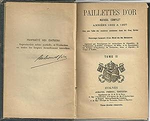 PAILLETTES D'OR. Recueil Complet. Années 1868 - 1879.