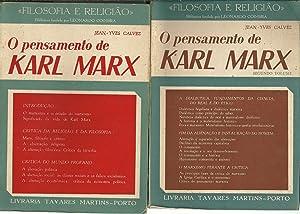 O PENSAMENTO DE KARL MARX: CALVEZ, Jean-Yves
