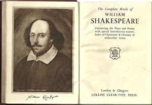 THE COMPLETE WORKS OF WILLIAM SHAKESPEARE: SHAKESPEARE, William