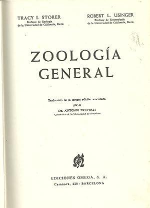 ZOOLOGÍA GENERAL: STORER & USINGER, Tracy I. - Robert L.
