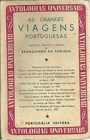 AS GRANDES VIAGENS PORTUGUESAS: Primeira série: FONSECA, Branquinho da
