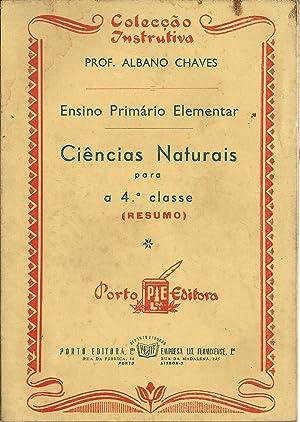 ENSINO PRIMÁRIO ELEMENTAR - CIÊNCIAS NATURAIS para: CHAVES, Albano