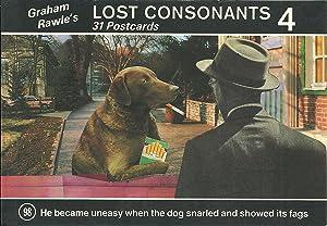 LOST CONSONANTS 4: 31 Postcards: RAWLE, Graham