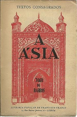A ÁSIA. DÉCADA I, LIVRO IV: BARROS, João de