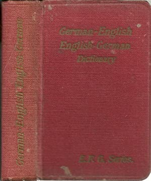 NEW POCKET DICTIONARY OF THE GERMAN AND: CLOSE, J. B.