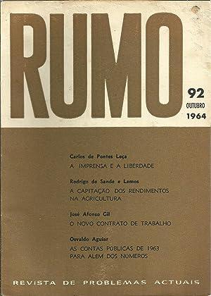 RUMO Revista de Problemas Actuais. Nº 92: REVISTA